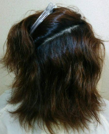 熊本美毛研究所・美髪矯正シルクレッチの結果(クセあり)髪質改善