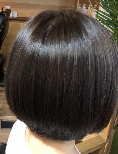 相模原高難易度縮毛矯正攻略最新美髪矯正シルクレッチ®アフター