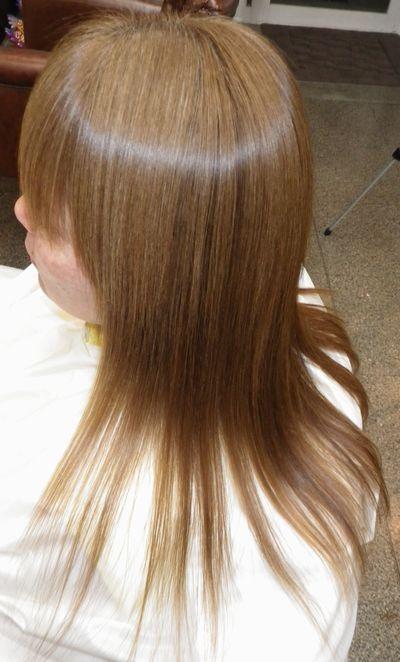 高知NO.1縮毛矯正 美髪改善効果がある美髪矯正シルクレッチ®