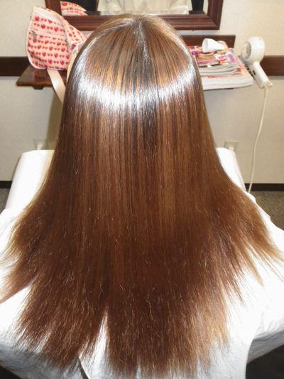 東京美髪矯正NO.1髪質改善効果の高いシルクレッチ®