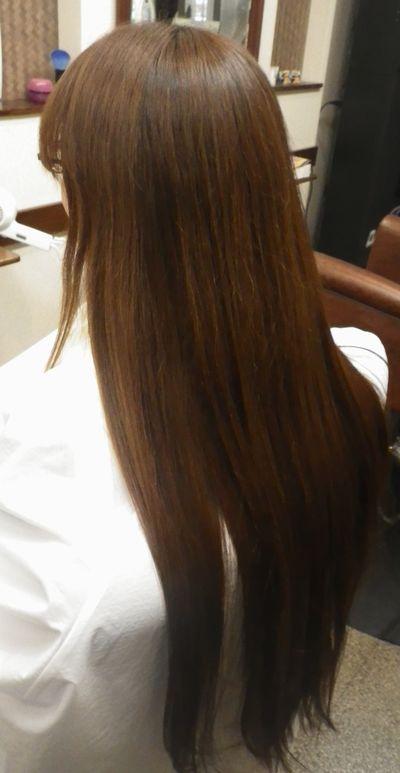 石神井公園美髪矯正シルクレッチ®美髪革命的髪質改善効果