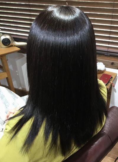 東京縮毛矯正 表参道美髪革命トリートメント不要美髪矯正