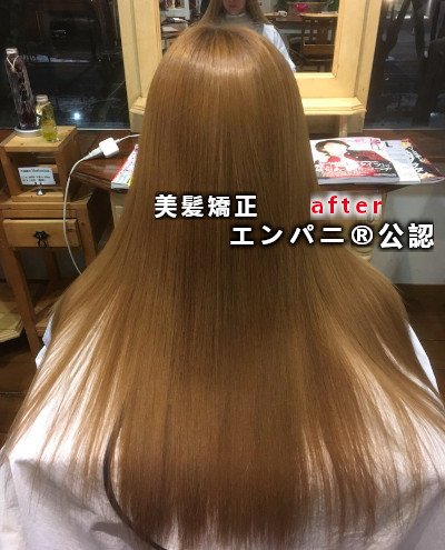 髪質改善 練馬美髪化結合強化技術艶羽(エンパニ®)