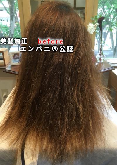 縮毛矯正 藤井寺美髪化髪質改善効果の高い高難易度攻略技術