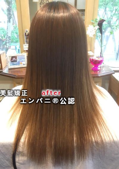 白子縮毛矯正専門攻略店の美髪化ストレート効果日本一レベル