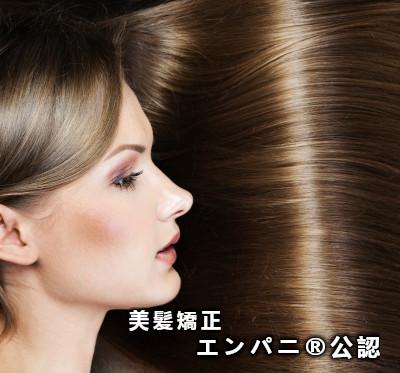 東京美髪研究所上手い縮毛矯正美髪技術のエンパニ®