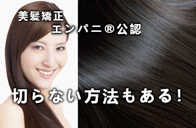 美髪化専門店美髪化縮毛矯正は日本一レベルの高い美髪強化技術